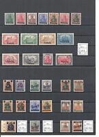Danzig, 1920/23, MiNrn. 1-180 + Dienst **,komplette Sätze/Sammlungen, postfrisch