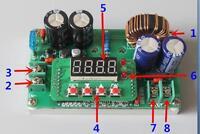 Adjustable 400W  CC CV DC-DC Step-down Converter  Power Supply Module Led Driver