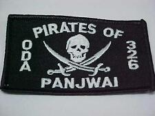 SPECIAL FORCES ODA 326 PANJWAI TEAM  CALICO JACK PATCH NAVY SEAL COMMANDO