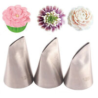 Cake Decoration Rose Petal Nozzle Icing Piping Nozzles Cream Tool Baking Mold
