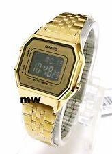 LATEST CASIO LA680WGA-9B LA680GA VINTAGE DIGITAL WOMEN'S GOLD WATCH NEW