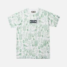 Kith X Sadelle's All Over Tee White T-Shirt Size L Large NEW 100% Authentic