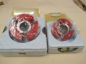 Freud # UP004 and # UP290 New w/Box Panel Shaper Cutters (see description).