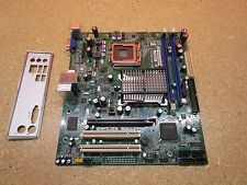 Intel DG41RQ Motherboard & I/O Shield Socket LGA775 / 2 Slots DDR2 / Tested