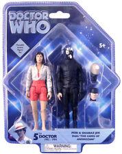 """Doctor Who esclusiva figura Set-peri & JEK da """"Le Grotte di androzani"""" - NUOVO"""