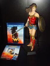 Wonder Woman 1/6 Scale Figure Blu Ray 3D Region Free and Digital HD