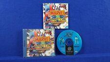 Sega Dreamcast MARVEL VS CAPCOM Clash Of Super Heroes Boxed COMPLETE PAL