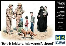 """1/35 Master Box 35159 Modern Middle East -""""Here is a Snickers kid"""" 8 Figure set"""