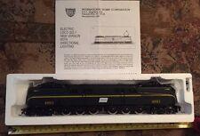 New! LOCO GG-1 Premier M9684 Penn Central Brim Green 1 stripe Road 4891 Train HO