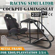 Racing Simulator Cockpit Driving Seat Gaming Chair G29 Heavy Duty Foldable