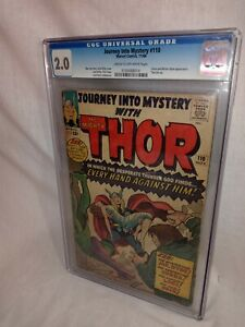 1964 Journey Into Mystery # 110 ~LOKI ORIGIN~ CGC 2.0~MR.  HYDE ~COBRA