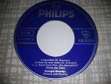 GEORGE BRASSENS EP L'AMANDIER 432203 PHILIPS EX