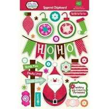 Holiday Scrapbooking Chipboard Accents
