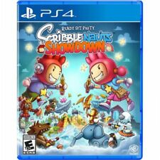 PS4 Scribblenauts Showdown NEW Sealed REGION FREE USA game plays on all PS4's