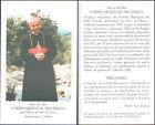 HOLY CARD SANTINO IMAGE PIEUSE - P. BERNARDINO M. PICCINELLI, servi di Dio