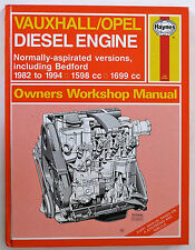 Vauxhall/Opel Diesel Engine Manual: Normally-aspirated versions inc Bedford.