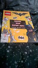 The LEGO Batman Movie: Choose Your Super Hero Doodle Activity Book by Egmont Pub