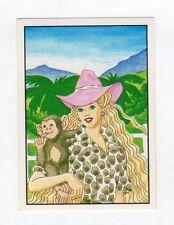 figurina - BARBIE 1989 PANINI - NUMERO 2