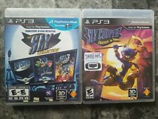 The Sly Cooper Collection + Thieves In Time Sony PlayStation 3 PS3 Complete CIB