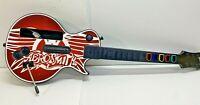 Nintendo Wii RedOctane Guitar Hero Controller Aerosmith Les Paul