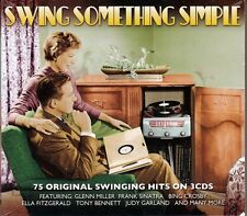 SWING SOMETHING SIMPLE - 75 SWINGING HITS (NEW SEALED 3CD)