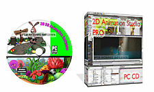 2D Graphics Animation Image Modelling Design Software Create Cartoons Suite CD