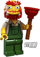 LEGO MINIFIGURA THE SIMPSONS  SERIE 2  `` GROUNDSKEEPER WILIE ´´  REF 71009