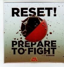 (BO504) Reset!, Prepare To Fight - DJ CD