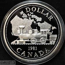 1981 Canada $1 Proof Silver Dollar