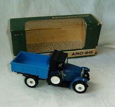 Old 1/43 Amo - F15 1924 diecast model car Ussr Russia box Rare