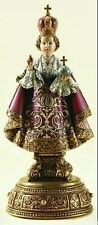 "New! 9.5"" Infant Jesus of Prague On Base With Drawer Statue Figurine 62813"
