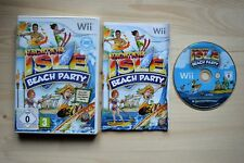 Wii - Vacation Isle: Beach Party - (OVP, mit Anleitung)
