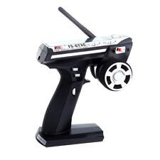 Flysky FS-GT3C 2.4G 3CH Radio Remote Control LCD RC Transmitter & Receiver J2E3