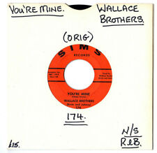 "N/SOUL/R&B.WALLACE BROTHERS.PRECIOUS WORDS / YOU'RE MINE.U.S ORIG 7"".VG-"