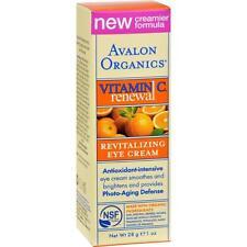 Avalon Organics Revitalizing Eye Cream With Vitamin C 30ml