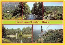 BG10221 gruss aus thale harz cable train   germany