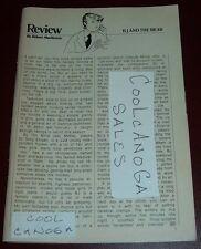 1979 TV REVIEW~BJ & THE BEAR~GREG EVIGAN~CHIMPANZEE~BY ROBERT MACKENZIE