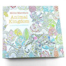 Animal Kingdom An Inky Treasure Hunt and Coloring Book by Johanna Basford Gift