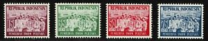 Indonesia 1955 The 1st General Indonesian Elections - Set Of Four Stamps - MNG