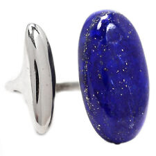 Lapis 925 Sterling Silver Ring Jewelry s.7 LPSR1030