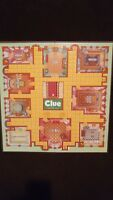 Game board for CLUE. Game board Only