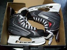 BAUER VAPOR X40 ICE HOCKEY SKATES ADULT SIZE 5 SKATE 6 SHOE NICE CONDITION
