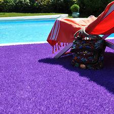 Gazon synthétique de couleur violet - Peps - Hauteur 20 mm - Sol balcon terrasse
