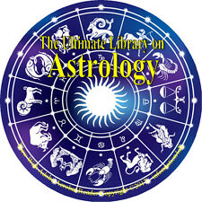21 Books on CD, Ultimate Library on Astrology, Horoscope Future Stars Foretell