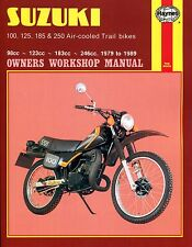 0797 Haynes Suzuki 100, 125, 185 & 250 Air-cooled Trail bikes (1979 - 1989)
