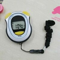 1 Pc LCD Digital Handheld Sports Stopwatch Counter Timer Chronograph Useful New