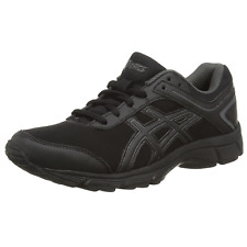Asics Gel Mission All Black Walking Running Sport Shoes Trainers Q500Y 9099 SALE