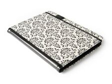 "NEW Verso Versailles 10"" iPad 2/3/4-Galaxy Tab 2 Tablet Cover Damask Black/White"