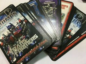 """Transformers"" A Pack of Top Trump ""Transformers"" Game Specials (Mint Cond) 2007"