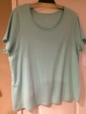 Christopher Banks green short sleeve tee size 3X NWT